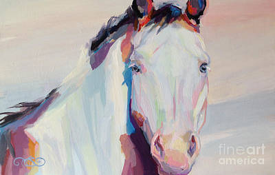 Horse Pastels Painting - Ice by Kimberly Santini