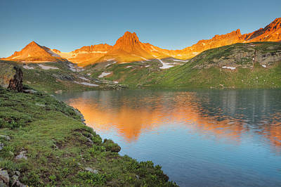 Photograph - Ice Lake Sunrise-2 by Alan Vance Ley