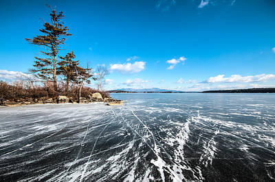 Photograph - Ice Land by Robert Clifford