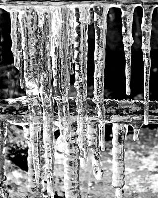 Photograph - Ice by Lizi Beard-Ward