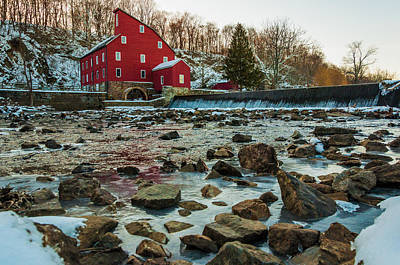 Historic Architecture Photograph - Ice Mill by Kristopher Schoenleber