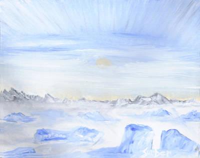 Ice Movement Art Print