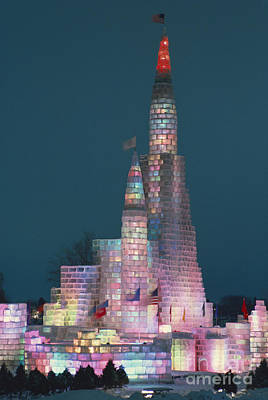 Photograph - Ice Palace In St Paul by Paul Shambroom