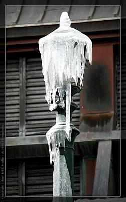 Photograph - Ice Pole Of Winter... by Al Fritz