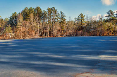 Photograph - Ice Pond by J Riley Johnson