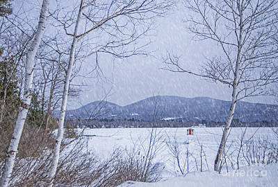 Photograph - Ice Shack by Alana Ranney