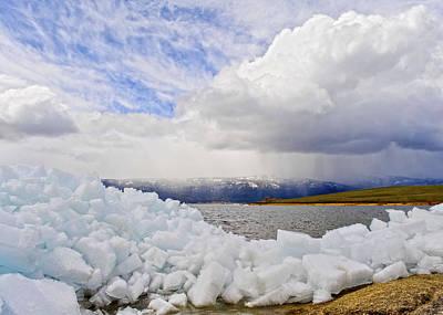 Photograph - Ice Shove by David Martorelli