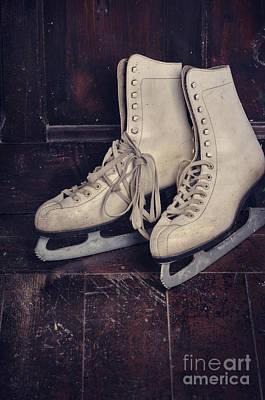 Ice Skates Art Print by Jelena Jovanovic