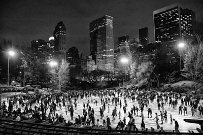 Photograph - Ice Skating At Wollman Rink by Celso Diniz