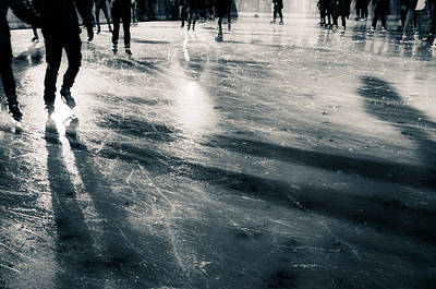 Photograph - Ice Skating by Lenny Carter