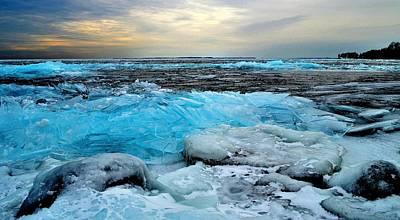 Ice Storm 16 - Kingston - Canada Art Print