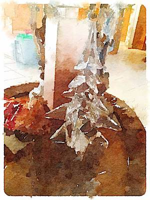 Digital Art - Ice Tree by Shannon Grissom