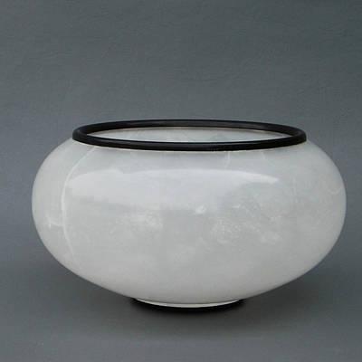 Sculpture - Ice Vase by Leslie Dycke