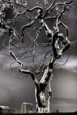 Ice Veins In The Sky Art Print by Joenne Hartley