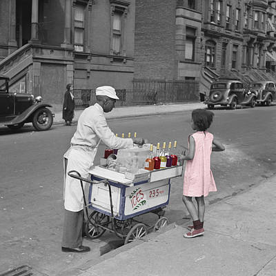 Photograph - Ice Vendor by Andrew Fare