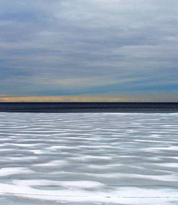 Ice Wind - Pattern - Canada Art Print