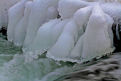 Wall Art - Photograph - Ice Works by Gary Wing