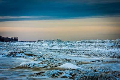 Photograph - Ice World by Sara Frank