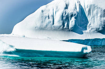 Photograph - Ice Xxv by David Pinsent