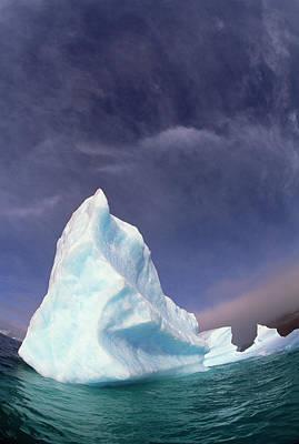 Photograph - Iceberg Adrift Near South Orkney by Colin Monteath