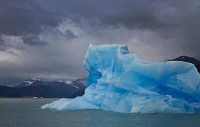 Iceberg Ahead Art Print by Kim Andelkovic