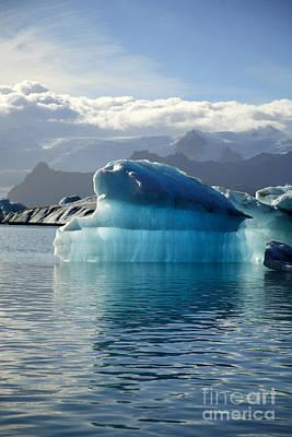 Iceberg Print by Deborah Benbrook