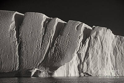 Photograph - iceberg in Greenland by Rudi Prott