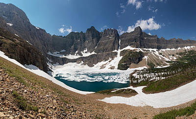 Photograph - Iceberg Lake by Aaron Aldrich