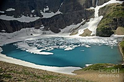 Photograph - Iceberg Lake by Cassie Marie Photography
