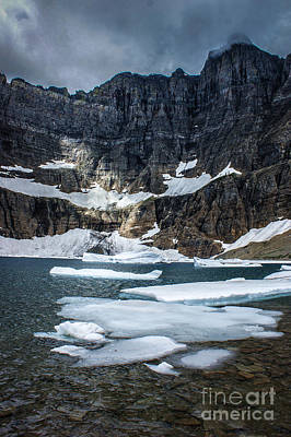 Photograph - Iceberg Lake by Jim McCain