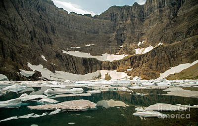 Iceberg Lake Art Print by Natural Focal Point Photography