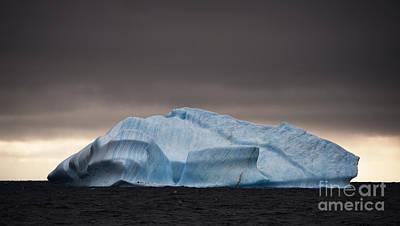 Animals Photos - Iceberg Off Elephant Island, Antarctica by Steve Jones