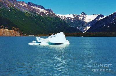 Photograph - Iceberg On Portage Lake by D Hackett