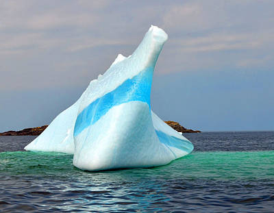 - Iceberg Up Close Off Newfoundland by Lisa Phillips