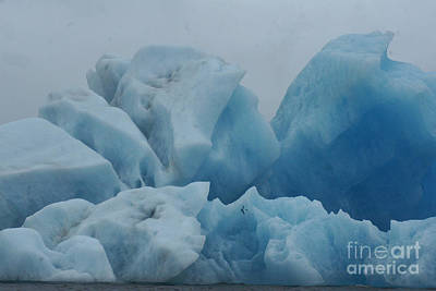 Photograph - icebergs on Joekulsarlon Iceland 1 by Rudi Prott