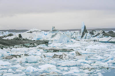 Photograph - Icebergs by Patricia Hofmeester