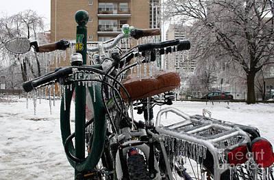 Toronto Photograph - Icecycle by Joe Fantauzzi