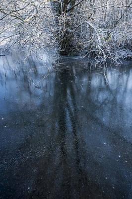 Iced Mirror Art Print by Svetlana Sewell