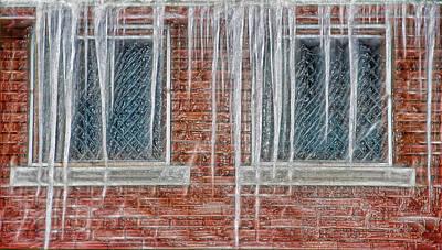 Iced Over Art Print by Steve Ohlsen