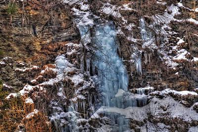 Photograph - Icefall by Roberto Pagani