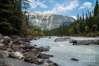 Icefields Parkway 2.0640 Art Print by Stephen Parker