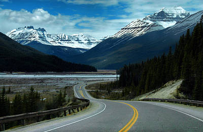 Photograph - Icefields Parkway by Dyle   Warren