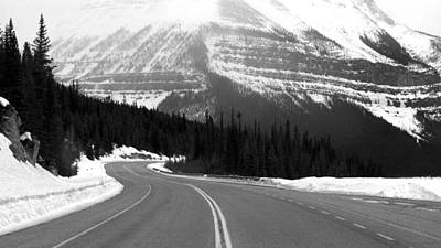 Photograph - Icefields Parkway In Winter by Daniel Woodrum