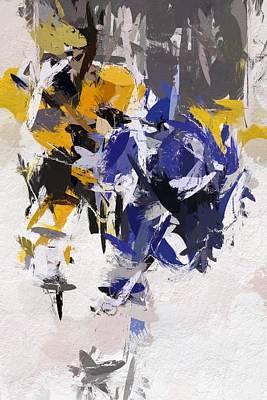 Icehockey Painting - Icehockey by Steve K