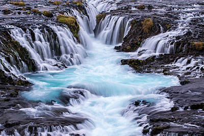 Iceland, Bruarfoss Art Print by Jaynes Gallery