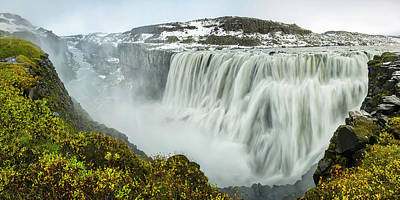 Dettifoss Photograph - Iceland, Dettifoss by Jaynes Gallery