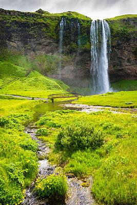 Photograph - Iceland Seljalandsfoss Waterfall by Matthias Hauser