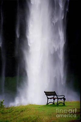 Iceland Waterfall Art Print by Arie Arik Chen