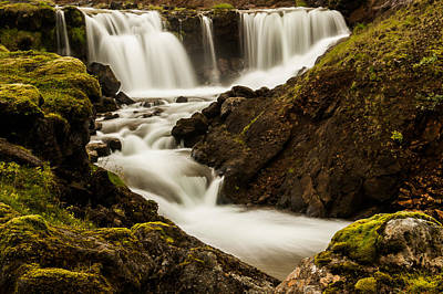 Photograph - Iceland Waterfall by Greg Wyatt
