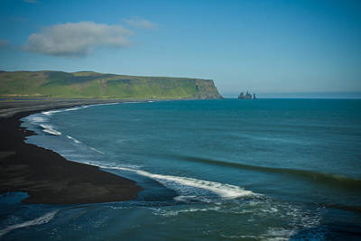 Photograph - Icelandic Beach by Anthony Doudt